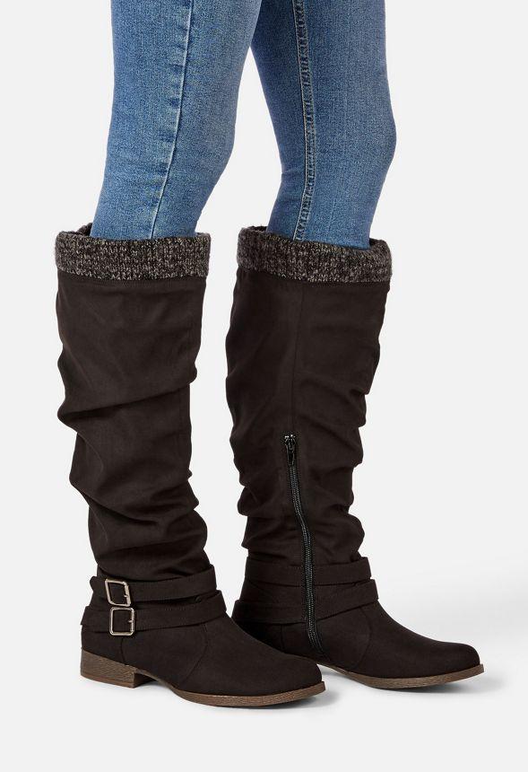 Aktuelle Damen Stiefel Schuhe Schnurstiefel 5845 Schwarz 40
