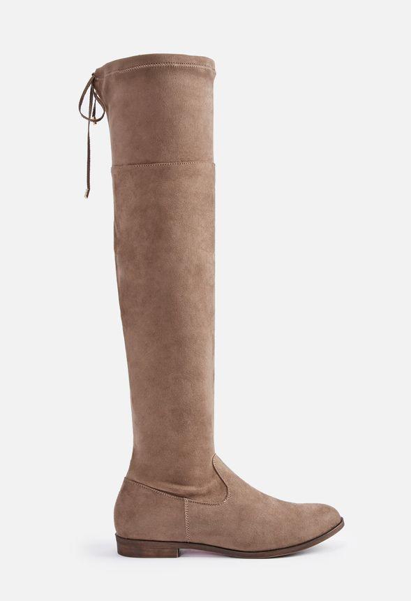 Phoebe Flat Boot Schuhe in Taupe günstig online kaufen im