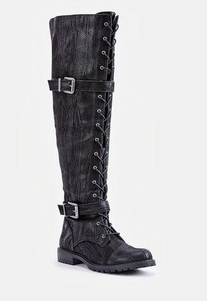 f65cecbaa2a Black Knee High Boots