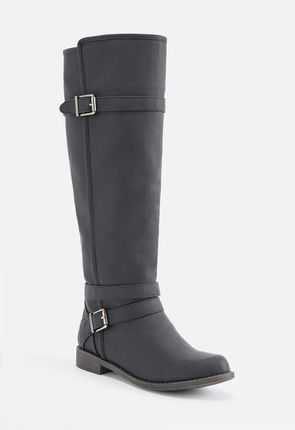 4bc1186f4cad Ride Around Faux Leather Boot ...