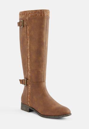 1143d208160 Brown Flat Boots for women | Buy online now | 75% Off VIP discount ...
