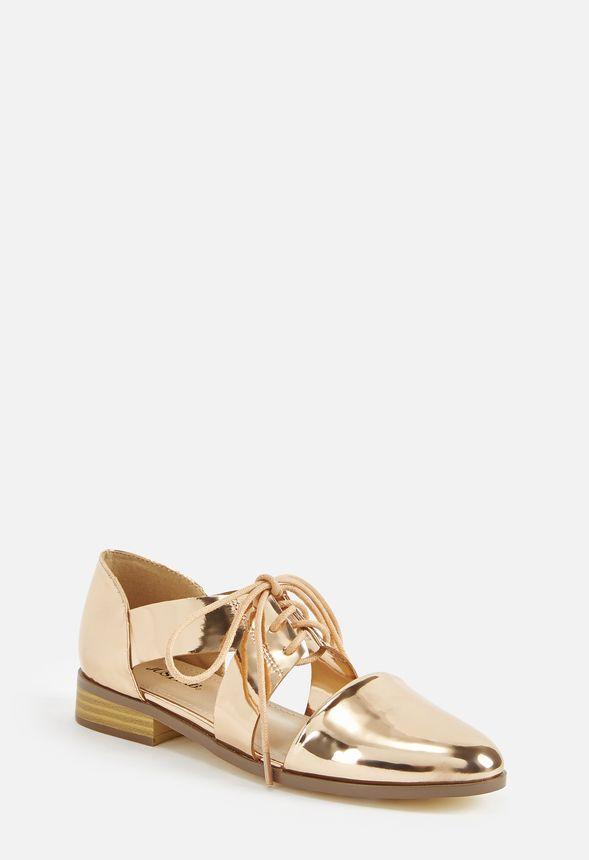 Maricel Chaussures Doré Oxford Rose En Out Gratuite Livraison Cut bfymIvY76g