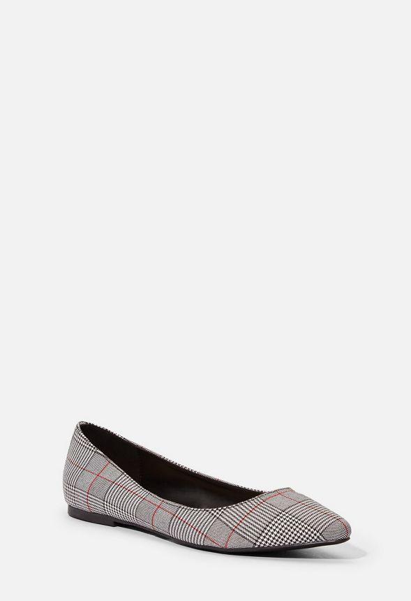 Keep Cool Ballerina Schuhe in PLAID günstig online kaufen