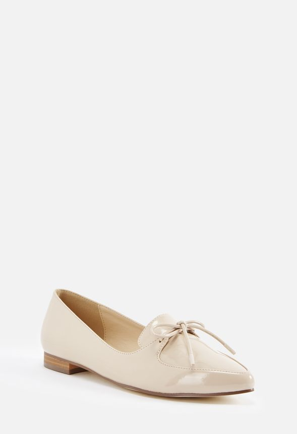 Mocassins The Chaussures Nude Vernis Livraison To Point En sthQxrdC