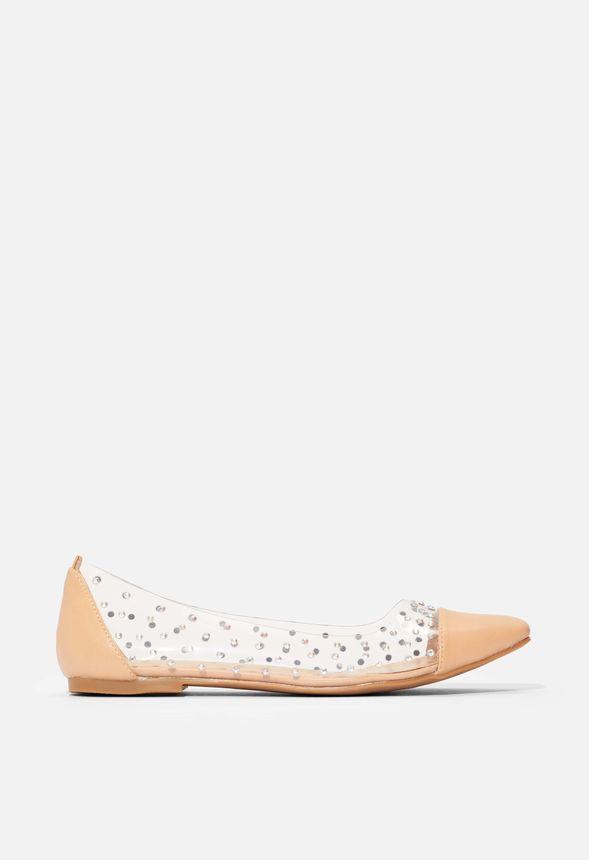 Erlinda Ballerinas Schuhe in Beige günstig online kaufen