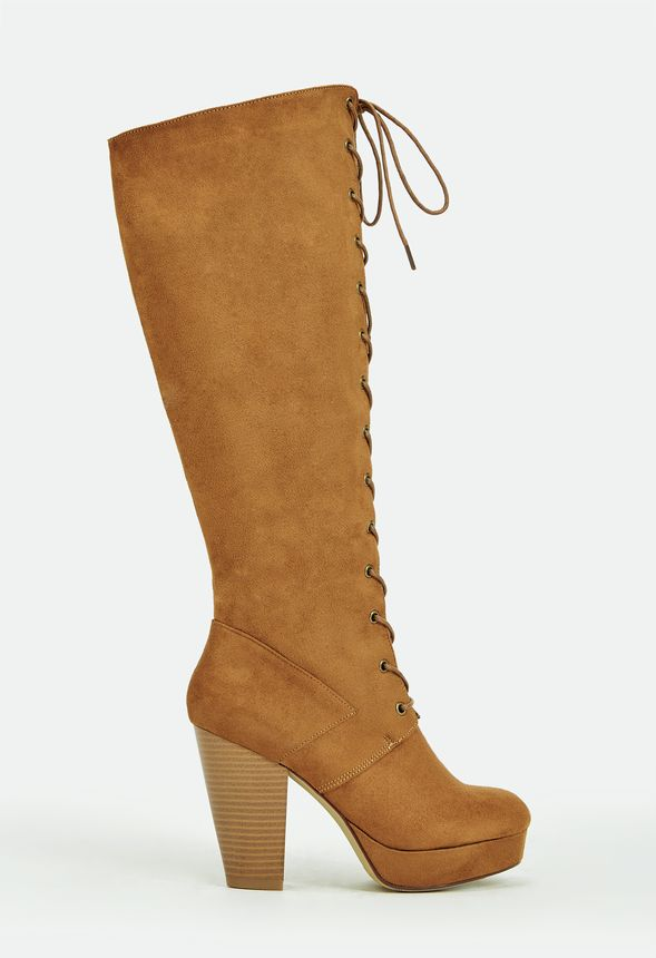5f6d7e2273321 Holli Shoes in WHISKEY - Get great deals at JustFab