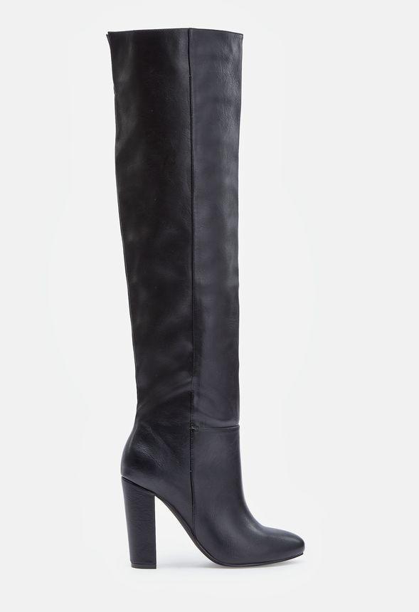 Gratuite En Justfab Chaussures Geraldine Livraison Noir Sur 1I58qw