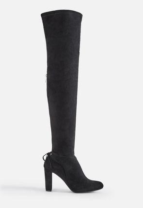 lårlange støvler læder smukke damer uden tøj