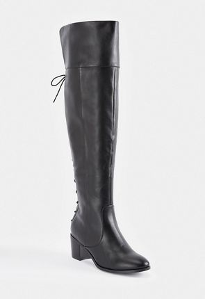 f01a8be9cac Athena Lace-Back Tall Boot ...