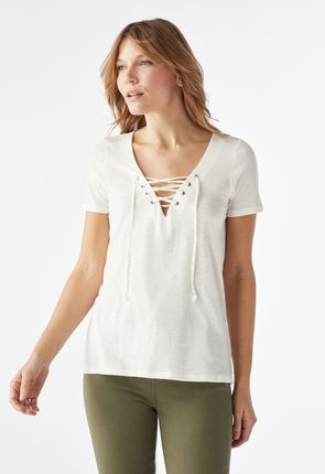 e19d3bb234aa2e Tops for women | Buy online now | 75% Off VIP discount* | JustFab UK ...