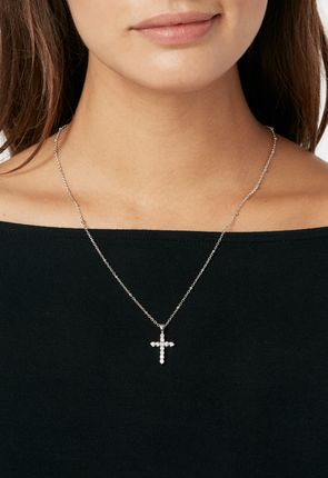 4ef0f2db3fb5 A-Cross The Way Necklace ...