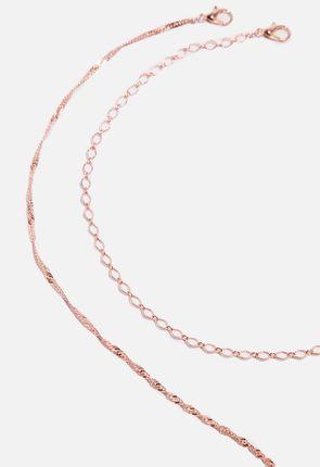 3151c305a853 Trío de collares Chain Trío de collares Chain