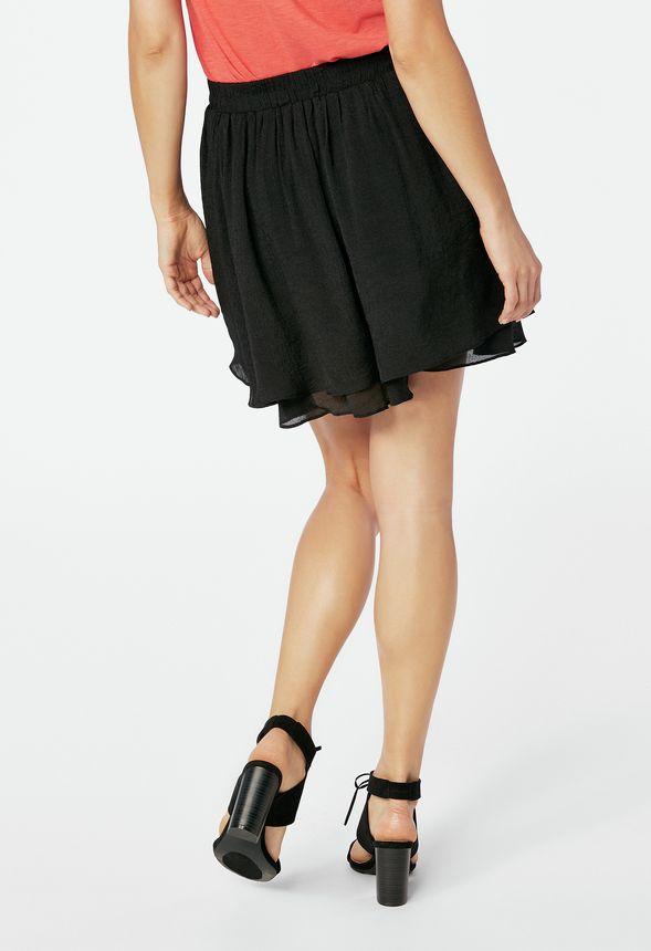 circle skirt kleidung in schwarz g nstig kaufen bei justfab. Black Bedroom Furniture Sets. Home Design Ideas