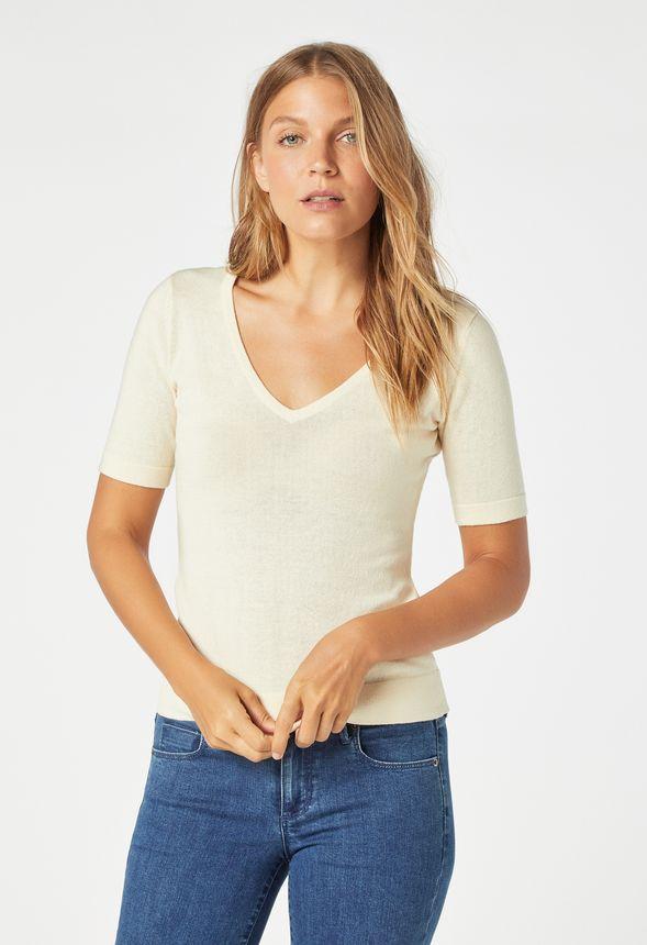 new concept 45657 d5b17 Fitted Pullover Kleidung in ECRU - günstig online kaufen im ...