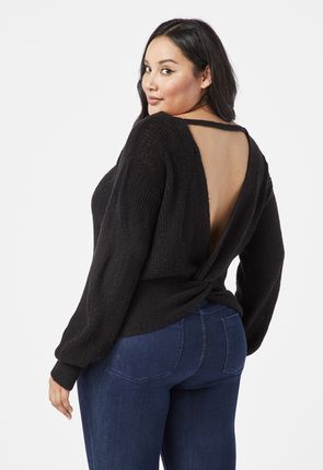 800ae154ad588 Plus size sweaters for women