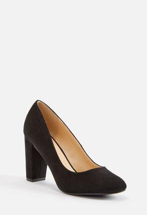 c9383ae390c Block heel pumps for women