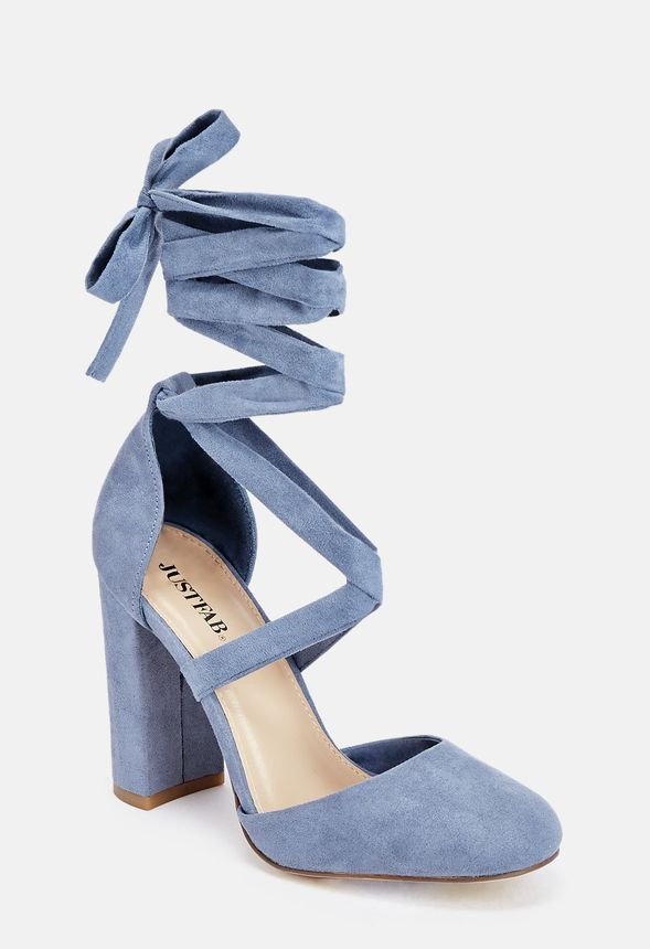 Kateryna Shoes In Dusty Blue Get Great Deals At Justfab