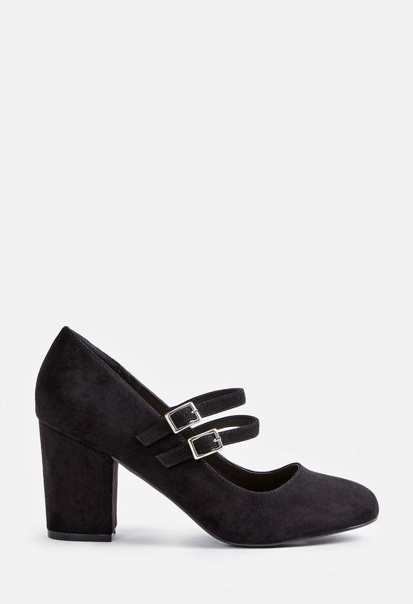 0d477e4b0503f3 Akira Pump Schuhe in Schwarz - günstig online kaufen im JustFab Shop ...