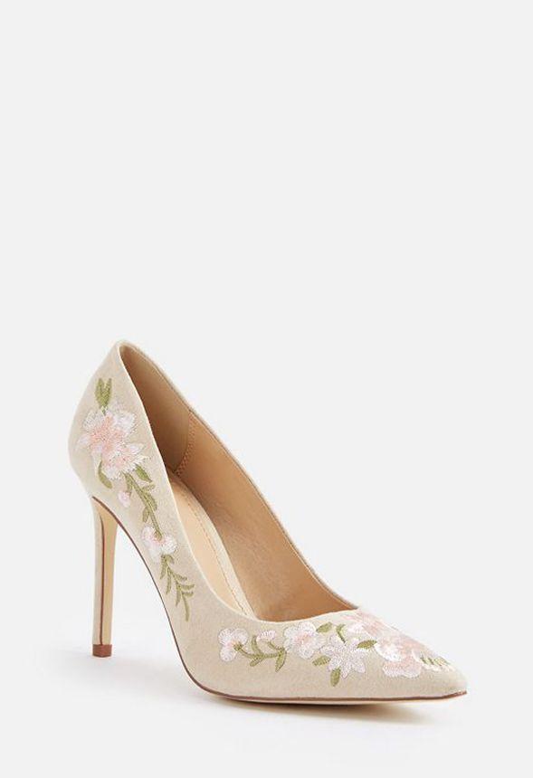 Naturel Gratuite Livraison Sur Escarpins En Lyssa Justfab Chaussures mnvwON80