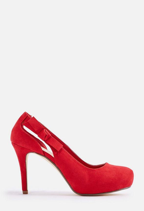 f3d16cdd17edd1 Lolita Pump Schuhe in Rot - günstig online kaufen im JustFab Shop ...