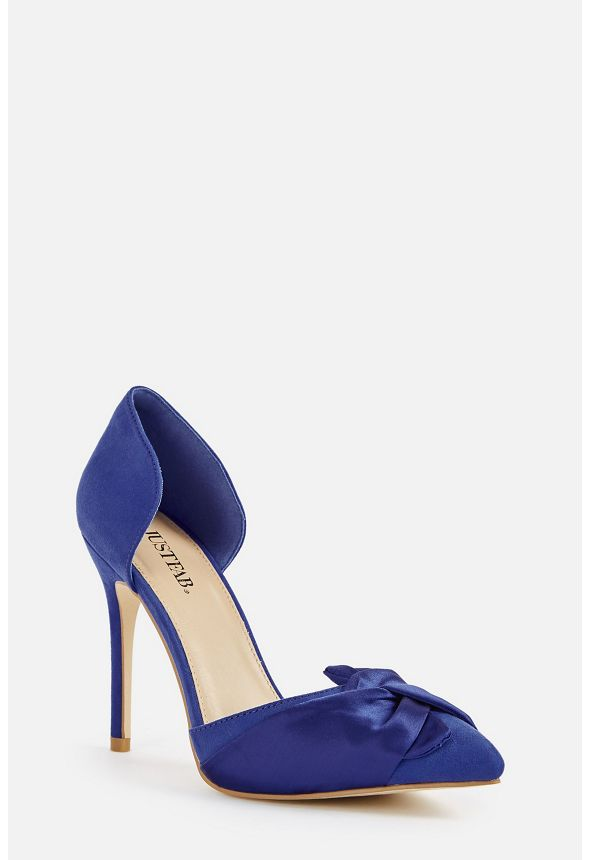 1b0a080a54c Sophya Pump Shoes in Cobalt - Get great deals at JustFab
