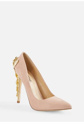 d27ca49cbddd Eve Metallic Heel Court ...