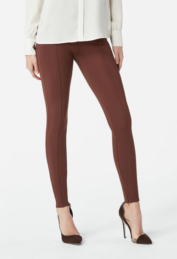 96aa686ab High Waisted Seamed Legging Clothing in espresso - Get great deals ...