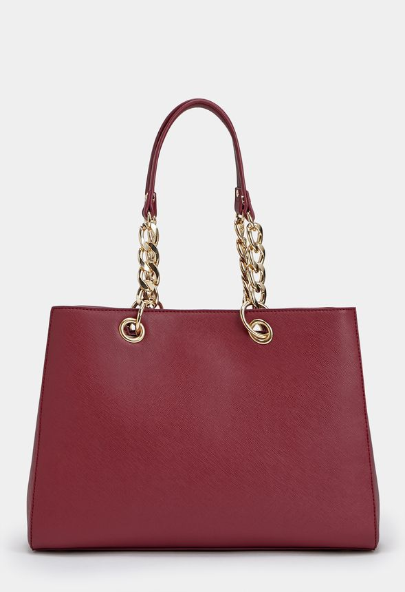 1fb51c8fb7f Wesley Bags in Oxblood - Get great deals at JustFab