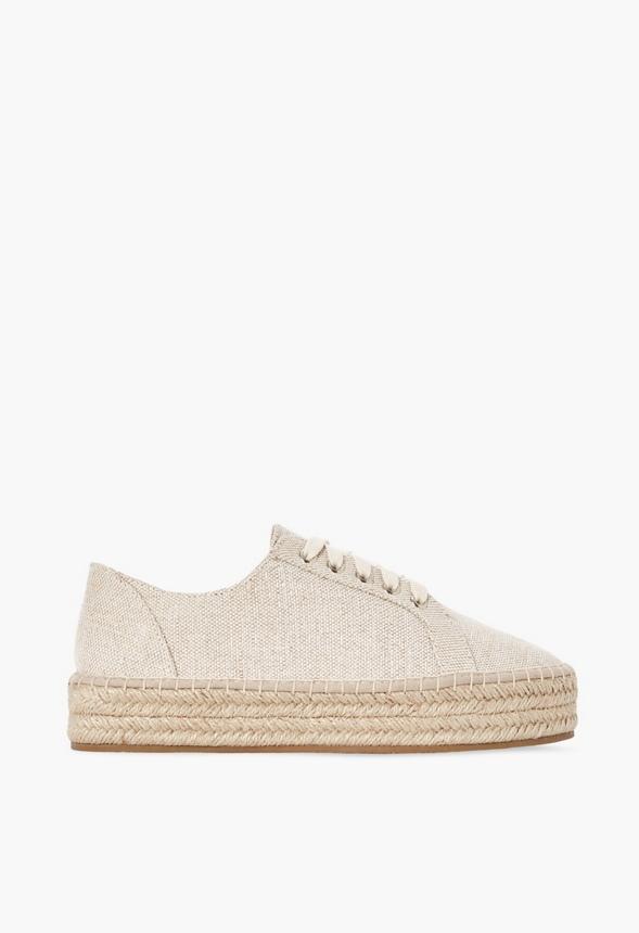 Veva Espadrille Platform Trainers Shoes