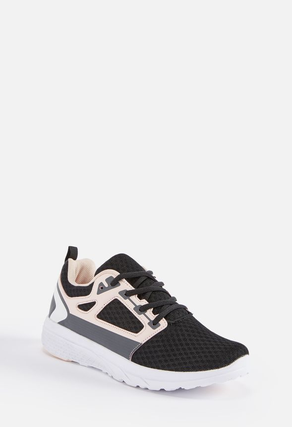 Aerin Performance Sneaker Zapatos at in Negro Get great deals at Zapatos JustFab 592cc8