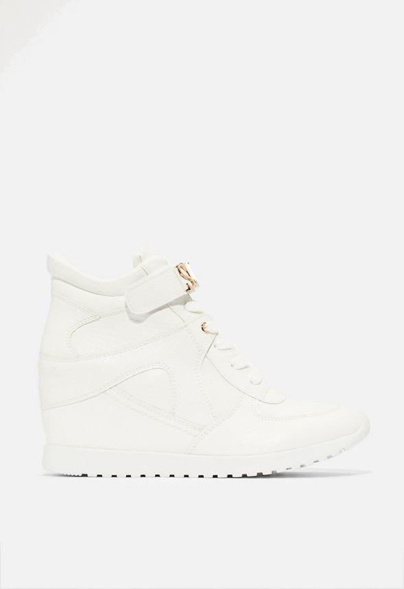 Katerina Sneaker mit Keilabsatz Schuhe in Weiß günstig