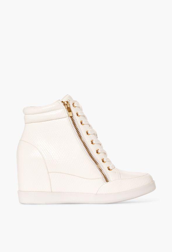 Shanta Hidden Wedge Trainer Shoes in