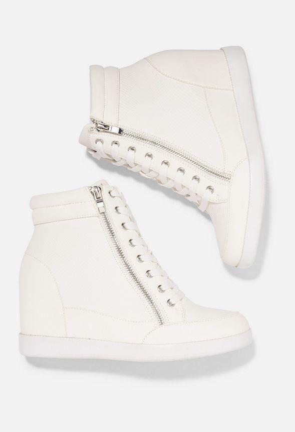 The Keilabsatz Weiß In Girl Cool Schuhe Mit Sneaker nOvm8wN0