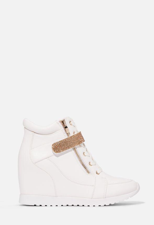 Anissa Sneaker mit Absatz Schuhe in Weiß günstig online