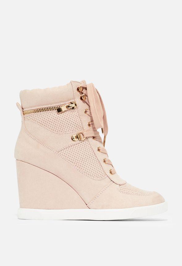 Bristol Sneaker mit Keilabsatz Schuhe in Mauve günstig