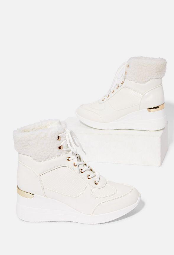 Hailie Sneaker mit Keilabsatz Schuhe in Weiß günstig