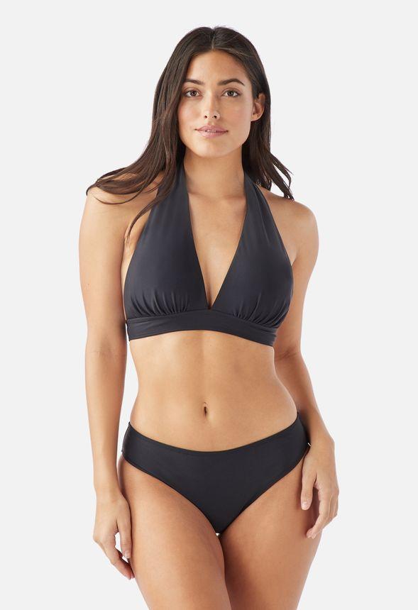 96e7a17141a77e Neckholder-Bikini Kleidung in Schwarz - günstig online kaufen im ...