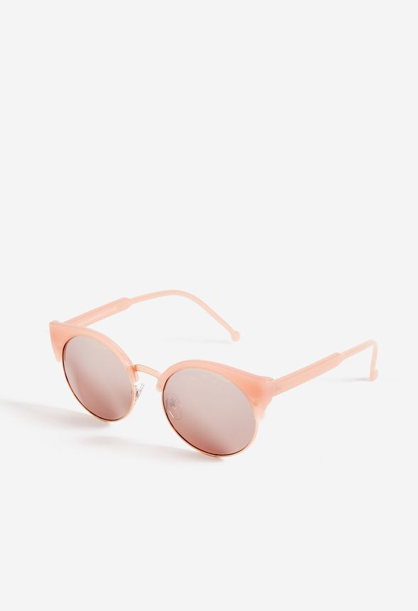 056f39579f2 Rosey Posey Sunglasses Accessories in Rose Gold - Get great deals at JustFab
