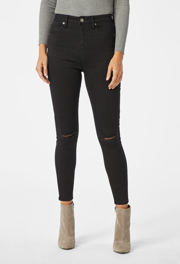 High Waisted Tummy Tamer Jeans Clothing in NIGHT SCOUT - Get