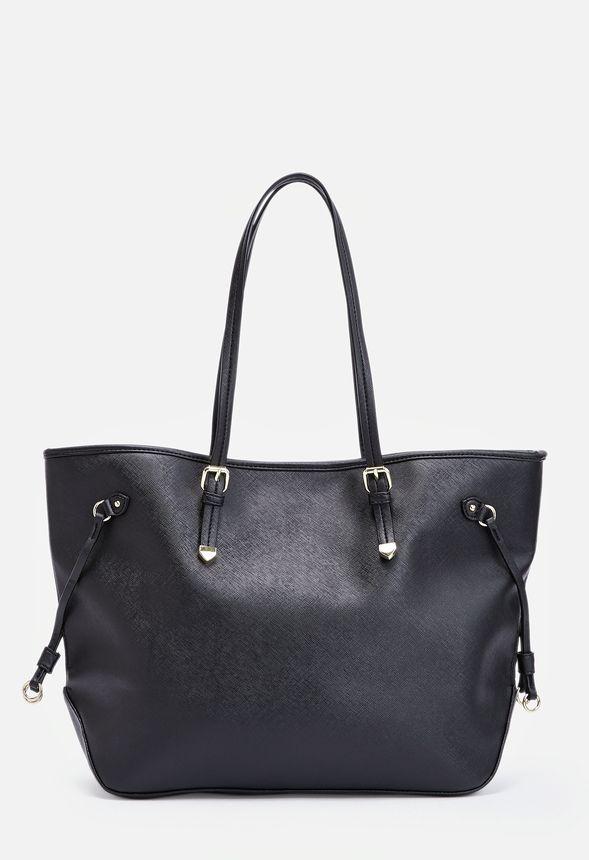 91b72169b49f4 Lovesome Handtaschen in Schwarz - günstig online kaufen im JustFab Shop  Deutschland