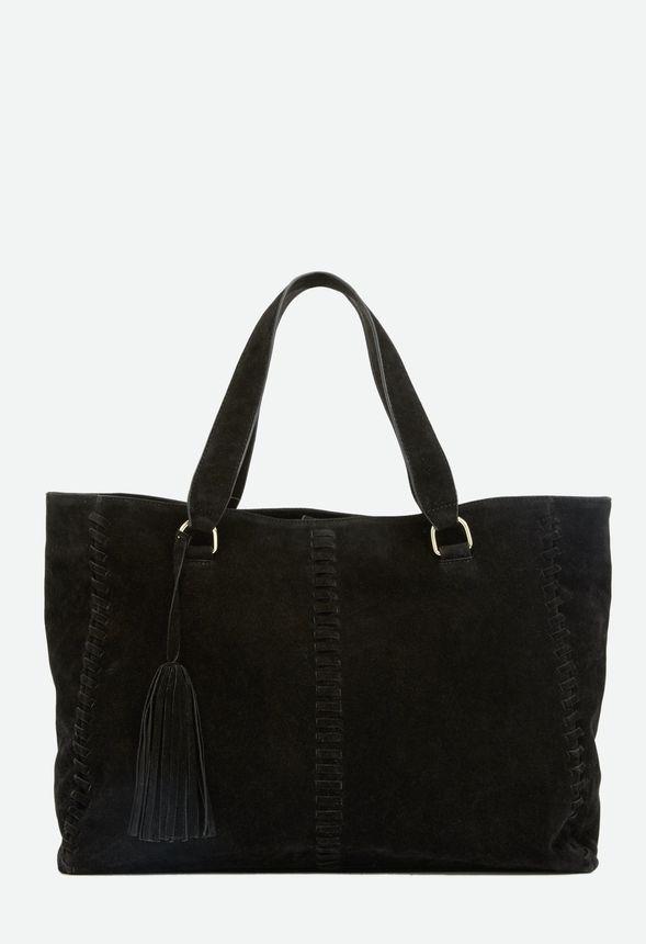 6b9d8aaff3618 Malik Handtaschen in Schwarz - günstig online kaufen im JustFab Shop  Deutschland