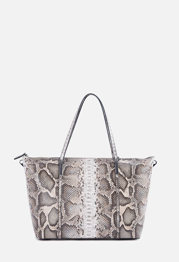 26508a5c41f2 Lief Tote Bags in Snake - Get great deals at JustFab
