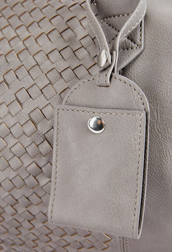 b55116237816 Bohemian Traveler Duffle Bag Bags in Grey - Get great deals at JustFab