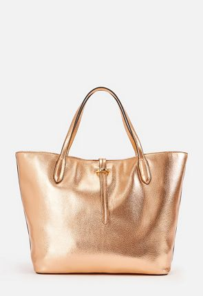 adcbdeb0ae All Faux Leather Tote ...