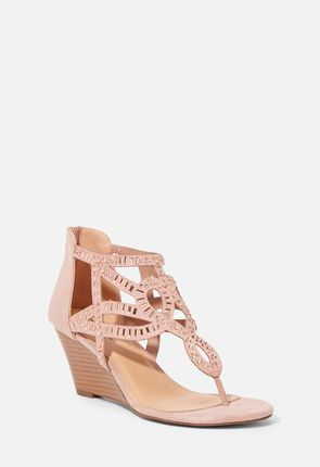 811ea8fad Lanie Wedge Thong Sandal ...