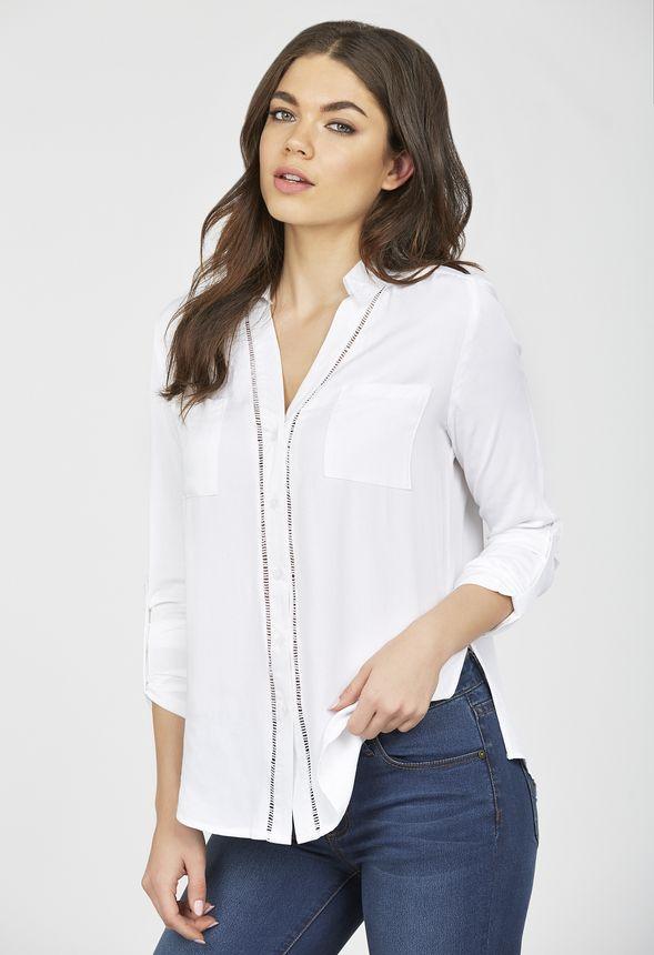 2 Pocket Front Trim Shirt