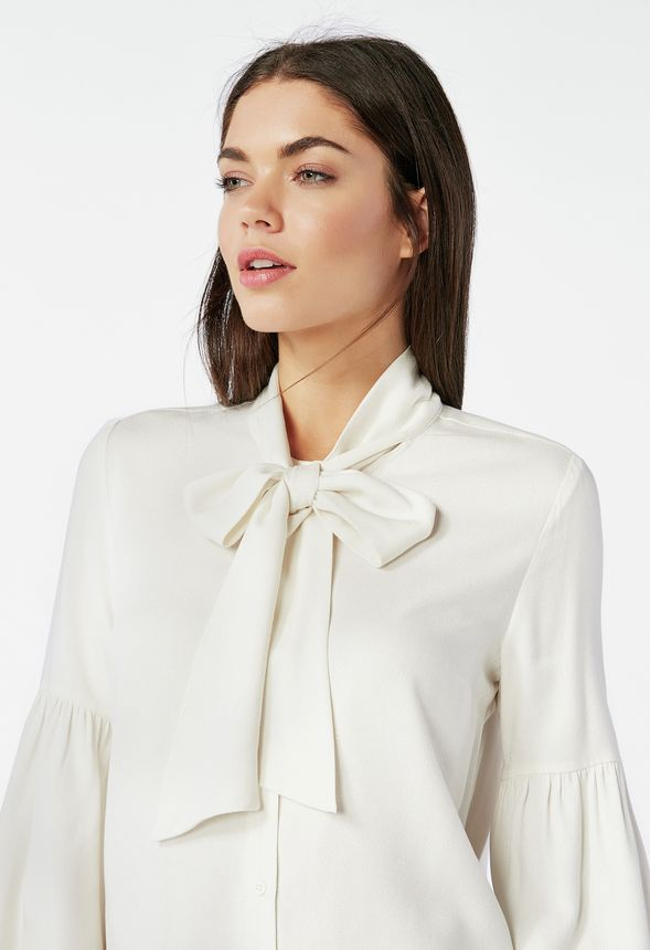 890a3d4c57ff0 Bow Tie Blouse Clothing in Bow Tie Blouse - Get great deals at JustFab