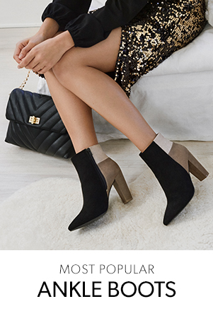 Most popular ankle boots