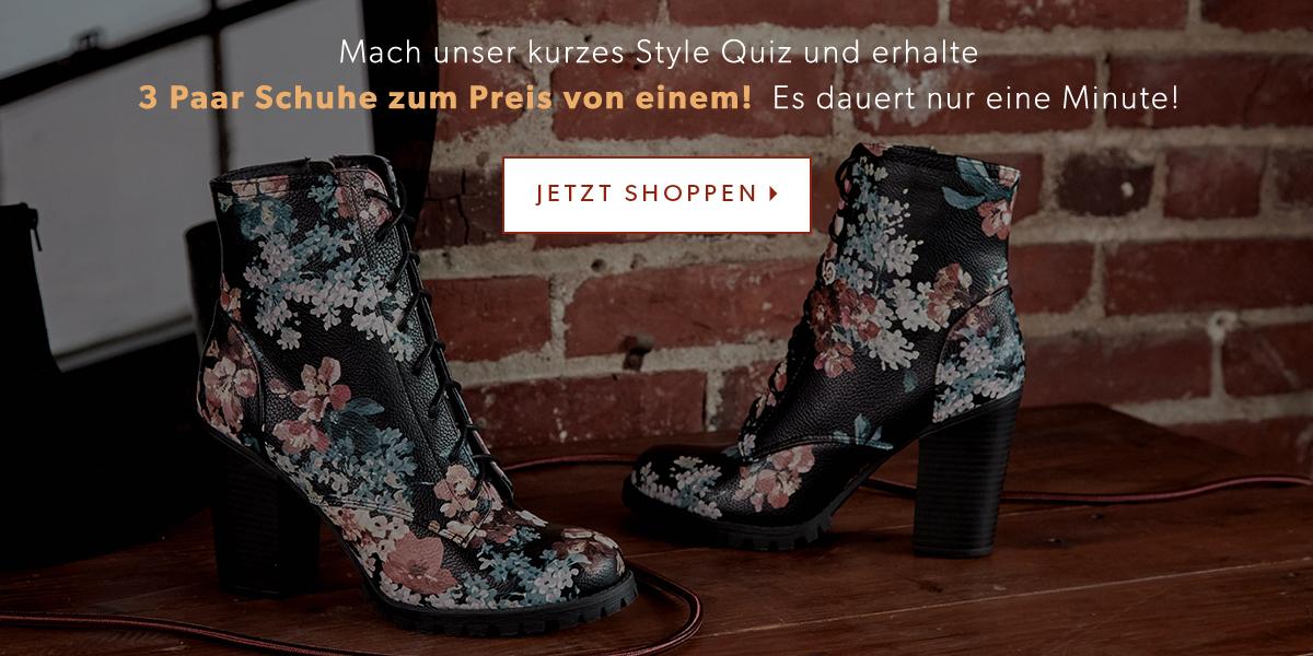 Klicke Dich durch unser Style-Quiz und erhalte deine Personalisierte Boutique.