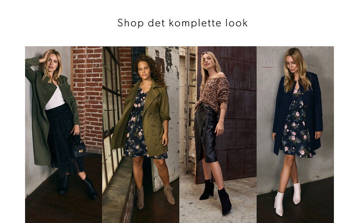 Shop det komplette look